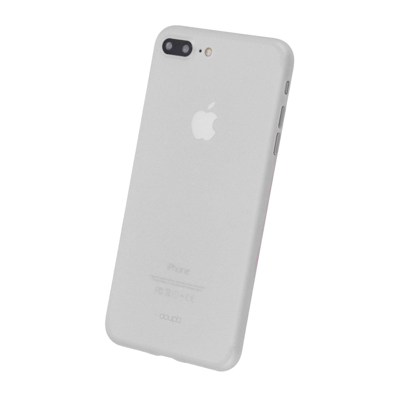 57b6c9f680e doupi UltraSlim Funda para iPhone 8 Plus / 7 Plus (5,5 Pulgadas), Finamente  Estera Ligero Estuche Protección, Blanco: Amazon.es: Electrónica