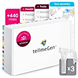 DNA Test Advanced Family tellmeGen | (Health + Traits + Wellness + Ancestry) | What Your DNA says About You