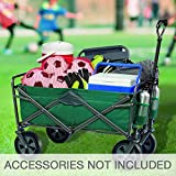 Mac Sports Folding Wagon (Dark Sea Green) | - Accessories Not Included -