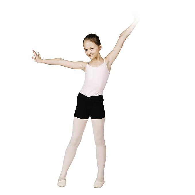 95382764c6f47 SANSHA Y0655C JOANIE Vêtements de danse Short pour Fille en Coton Lycra -  Noir - EU  130 cm 12 ans (Taille Fabricant  F)  Amazon.fr  Vêtements et ...