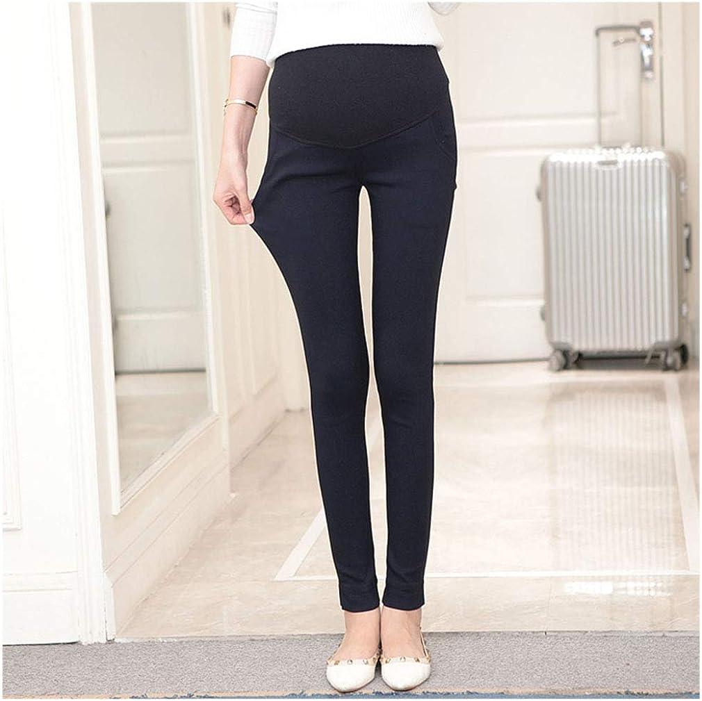 Maternity Trousers Work Skinny Pencil Pants Pregnant Pants for Women Pregnancy Leggings Over Bump Maternity Pants High Waist