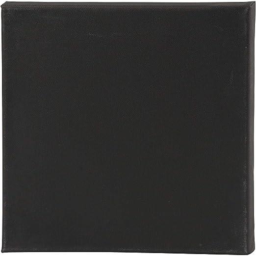 Pack de 2 lienzos elásticos cuadrados negros de profundidad ...
