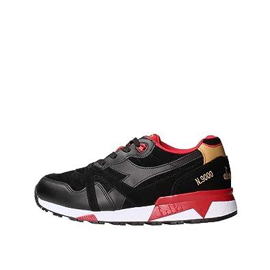 1c70e4d303dc73 Diadora 501.172307-80013 Sneaker Man Black 41: Amazon.co.uk: Shoes ...