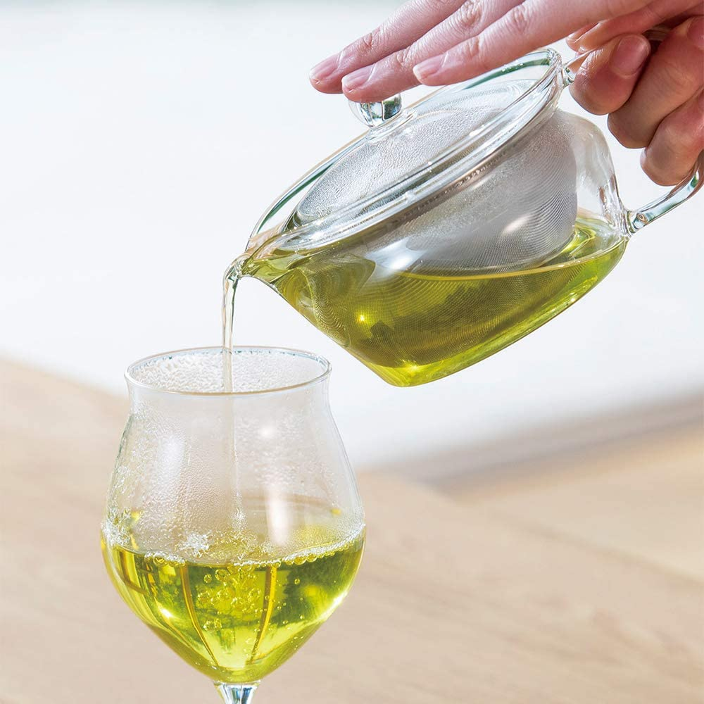 Hario ChaCha Kyusu Zen Tea Pot Clear 300ml
