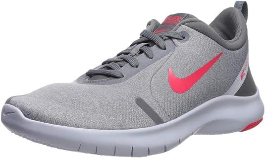 Nike Flex Experience Run 8 Wide - Zapatillas de Running para Mujer, Color Gris, Talla 43 EU: Amazon.es: Zapatos y complementos
