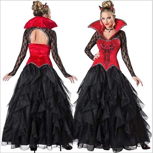 ZLHZYP Disfraz Halloween Disfraz de Halloween Disfraz de Vampiro ...