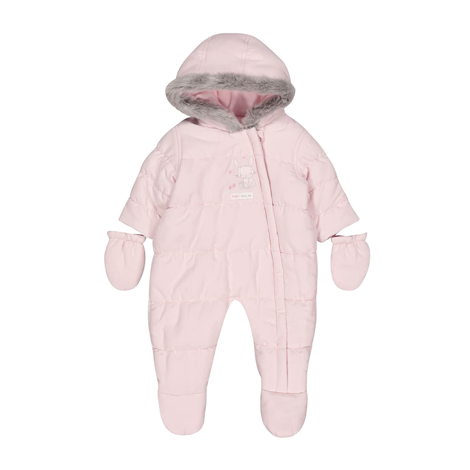Mothercare Baby Girls' Graphic Snowsuit Fleece QD718
