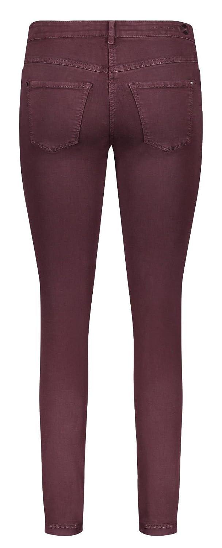 MAC Damen Jeans Dream Skinny 5402 dark oxblood 467W: Amazon.de: Bekleidung