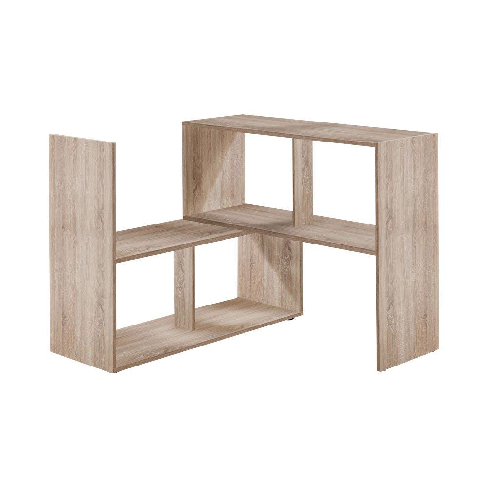 Unbekannt FMD Möbel 264-100 Stretch 100 Regal, Holz, Eiche, 94.7 x 33 x 74.2 cm