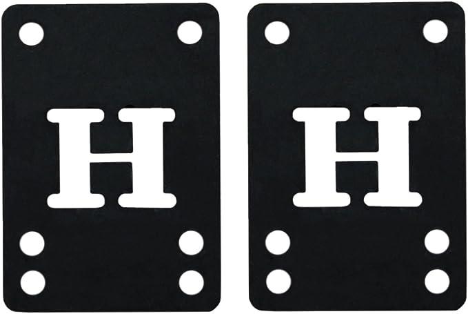 2pcs 3mm Soft Skateboard Riser Shock Pads Longboard Shock pads JL RA