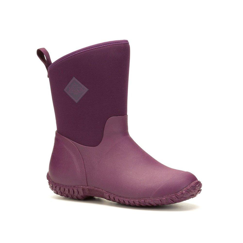 Muck Boot Women's Muckster 2 Mid Snow B077TQDBFT 8 M US|Black, Purple