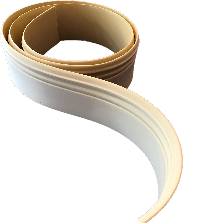 FlexTrim Flexible Baseboard # 5180 9//16 Thick x 5.25 Tall Flexible Base molding 12 feet Long