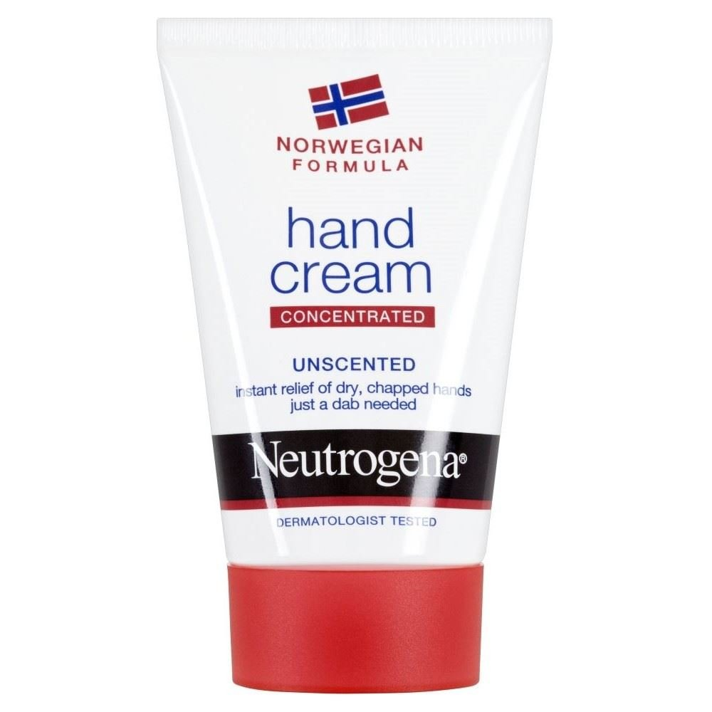 Neutrogena Norwegian Formula Hand Cream Unscented (50ml) - Pack of 6