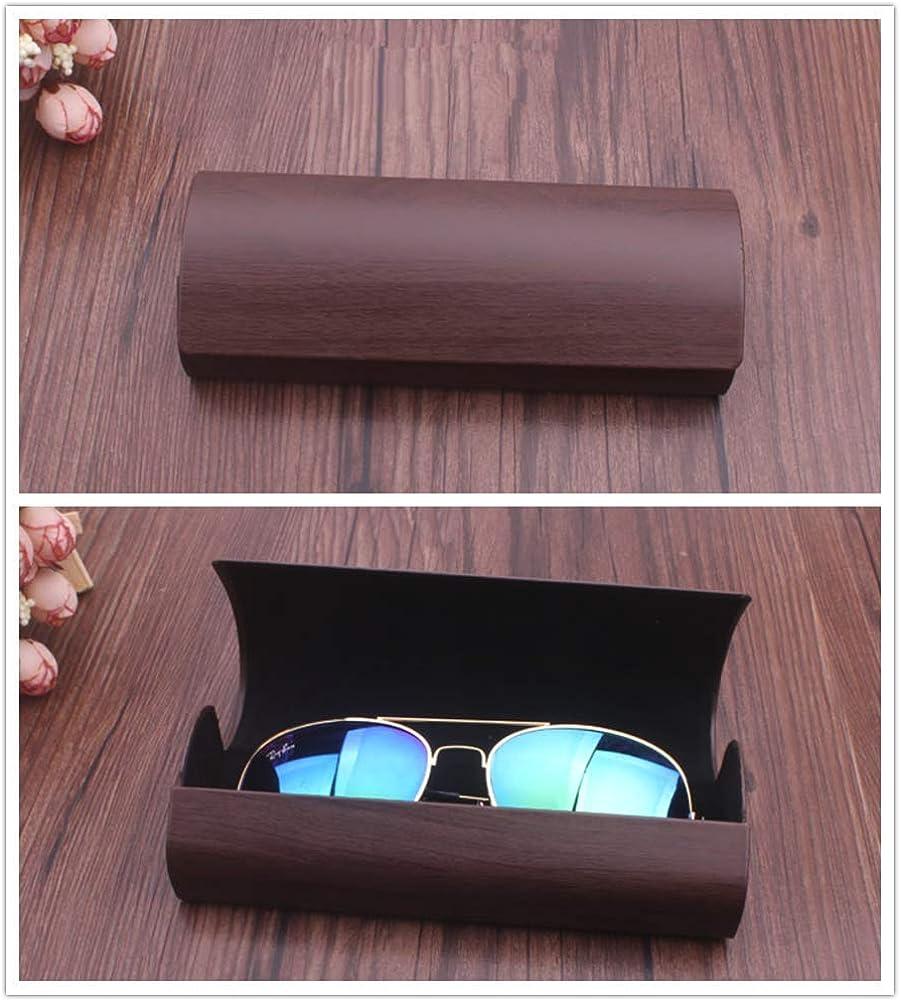 Sunglasses Case Glasses Etui extra robust f/ür lesebrille outdoor Erwachsene und Kinder PASDD Herren Damen Brillenetui Brillenh/ülle Hartschale