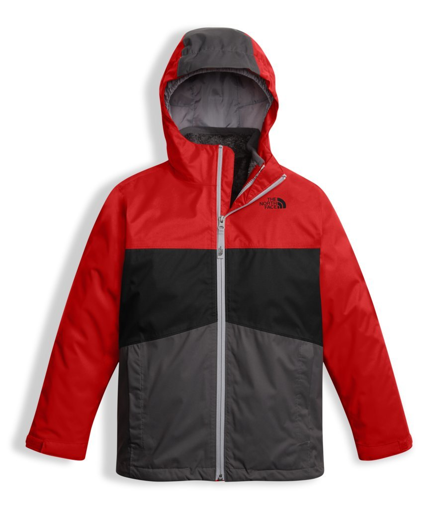The North Face Boy's Chimborazo Triclimate Jacket - TNF Red - S (Past Season) by The North Face