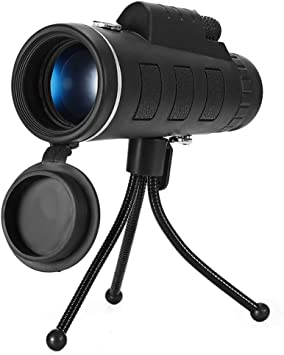 Powerful 50X60 Lens BAK4 Prism HD Monocular Telescope Night Vision Games Travell