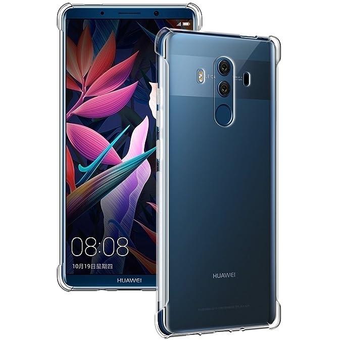 18 opinioni per Custodia Huawei Mate 10 Pro, Siuber Ultra Slim Trasparente Crystal Sottile TPU