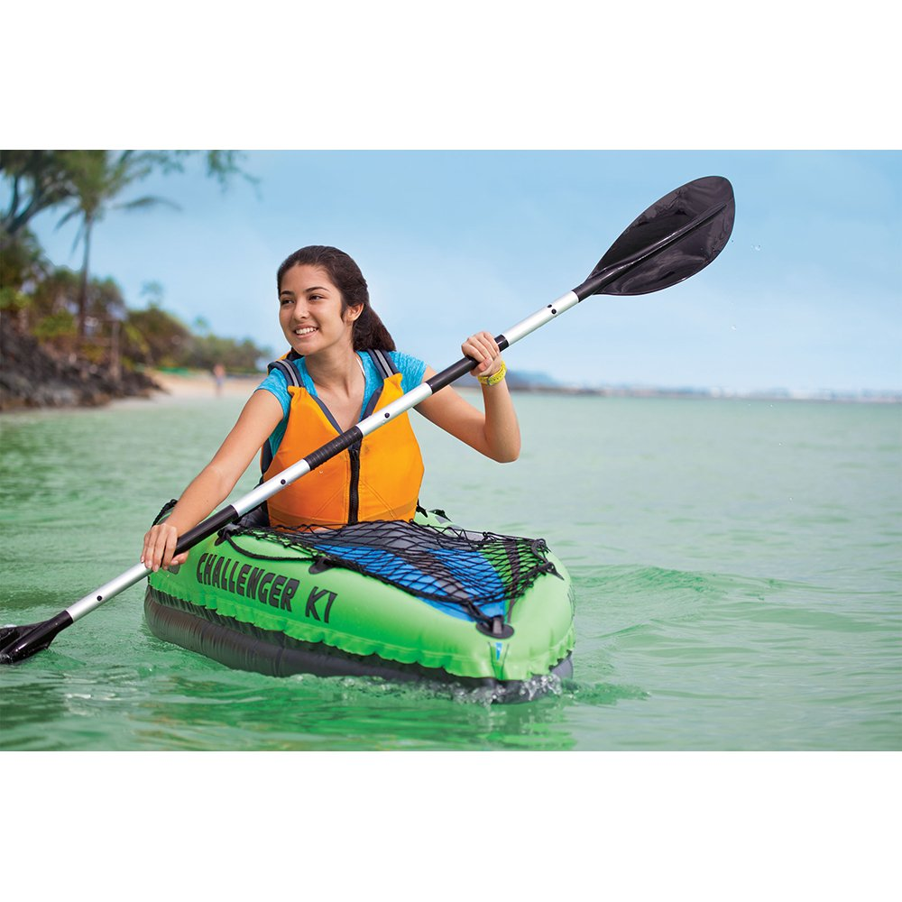 Intex K2 Challenger 2 Person Inflatable Kayak Canoe Review