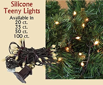 silicone dipped mini lights strand country primitive lighting dcor
