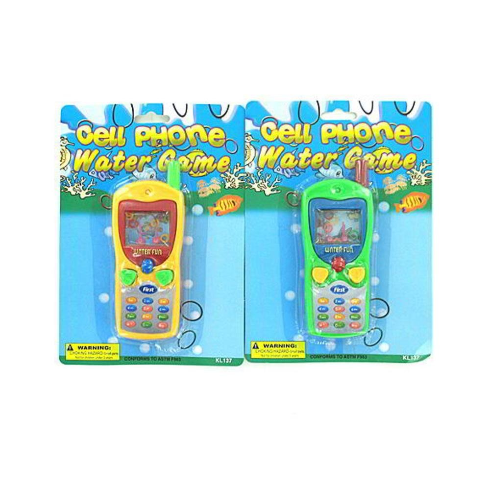 Bulk Buys KL137-96 5/8'' x 1 7/8'' x 5/8'' Cell Phone Water Toss Game - Pack of 96 by bulk buys