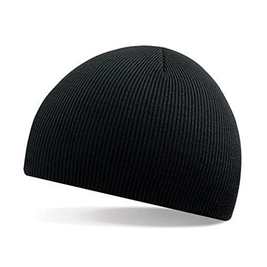 680e7729541097 LAYs Unisex Adult Wool Knitted Hat Hip-Hop Ski Skull Hat Beanie Cap Warm  Winter Cuff (Black) at Amazon Men's Clothing store: