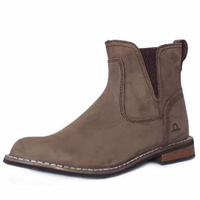 df93f66f878b Chatham Marine Quinn Women's Casual Pull On Short Boots in Brown 7 BROWN
