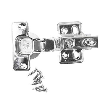 1 Paar Edelstahl Türband Scharniere Türscharnier Möbelscharniere mit Schrauben