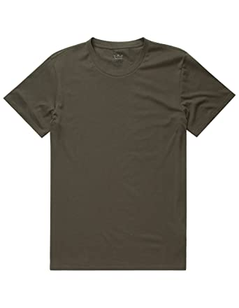 89f01882243 Image Unavailable. Image not available for. Color  Blue Crown Solid T-Shirt  ...