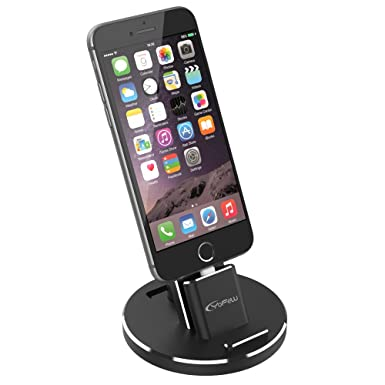 promo code 7325c 44910 YFW Charging Dock for iPhone Charger Stand Docking Station for ...