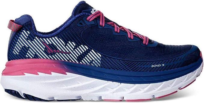 HOKA Medalla Corazón de Zapatos Running para Mujer Bondi 5 Neutra A3 , Turquesa, 6: Amazon.es: Deportes y aire libre