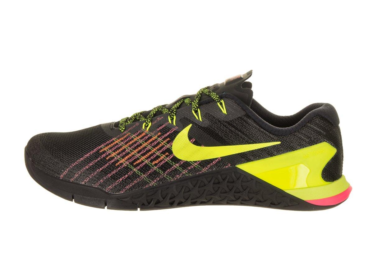 sale retailer c8fd4 70dec Zapatillas de entrenamiento Nike Metcon 3 para hombre Punch negro   Volt-hyper  Crimson-hot