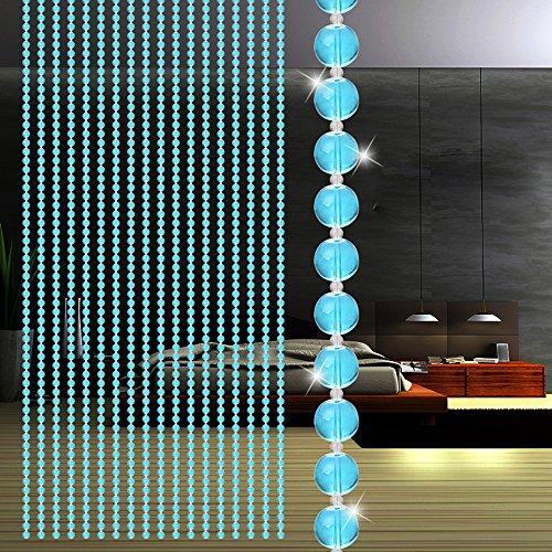 Guo Nuoen Bead Pendant Curtain Crystal Glass Luxury Living Room Shop Bedroom Window Door Divider Wedding Party Decor]()