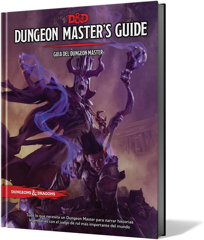 Dungeons & Dragons- D&D Dungeon Masters Guide (Guía del DM ...