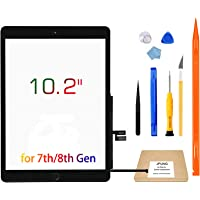 """JPUNG Touch Screen Replacement for iPad 7th Generation 8th Generation Digitizer 10.2"""", Only for 7th 8th Gen A2197 A2198…"""