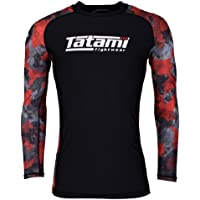 Tatami Rashguard Renegade – Red Camo – Rash Guard BJJ MMA Grappling