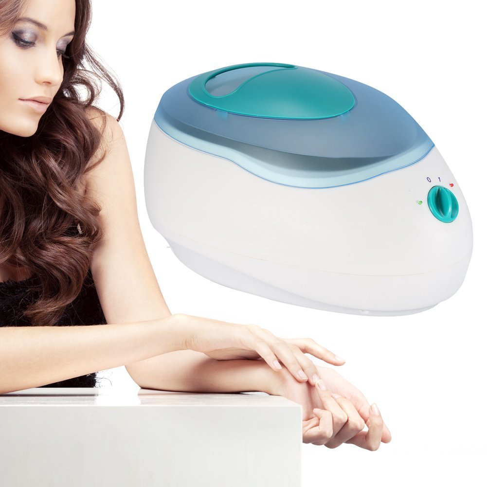 3000ML Wax Beans Paraffin Heater Pot, Professional Salon Spa Warmer Machine Paraffin Bath Wax Electric Heater for Hair Removal Beauty Hand and Foot Skin Care(US Plug) Semme