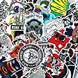 Future 300 Pcs Laptop Waterproof Stickers Pack Car Stickers Motorcycle Bicycle Luggage Decal Graffiti Patches Skateboard Stickers for Laptop Random Sticker Pack(6 Pack)