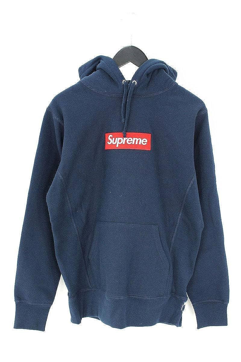 (シュプリーム) SUPREME 【16AW】【Box Logo Hooded Sweatshirt】ボックスロゴフーデッドスウェットパーカー(S/ネイビー) 中古 B07D57DJYC