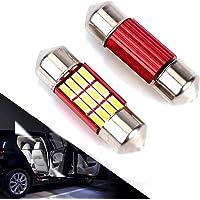 DE3175 LED Bulb For Car 4Pcs 12SMD 4014 Chipset Canbus Error Free Led Bulbs 31mm 1.22'' Festoon Led Bulbs DE3022 DE3021…