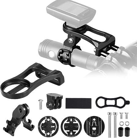 Bike Computer Camera Mount Out front Bicycle Handlebar GPS Holder Rack f//Garmin
