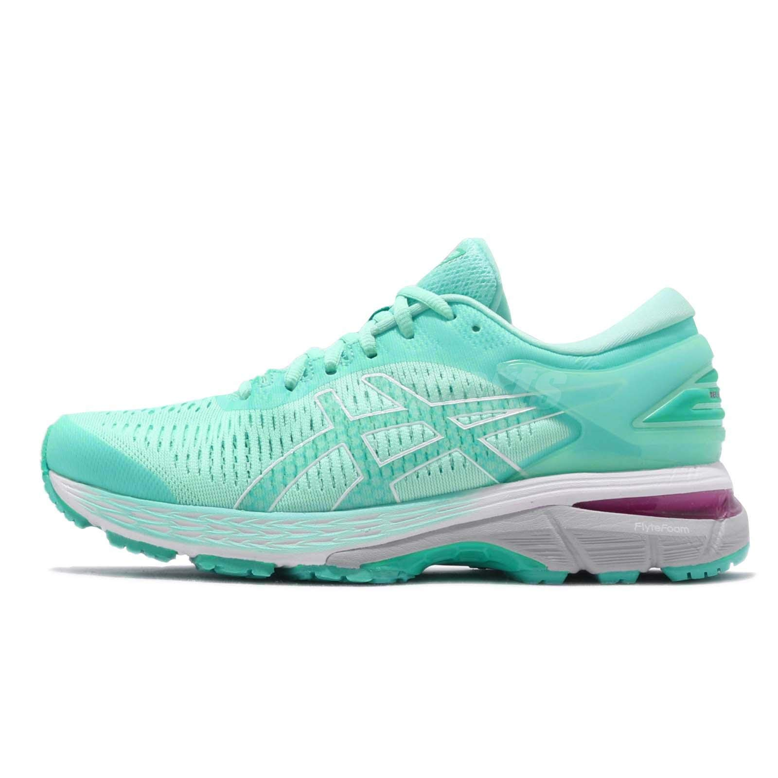 ASICS Women's Gel-Kayano 25 Running Shoes, 10, Icy Morning/Sea Glass by ASICS