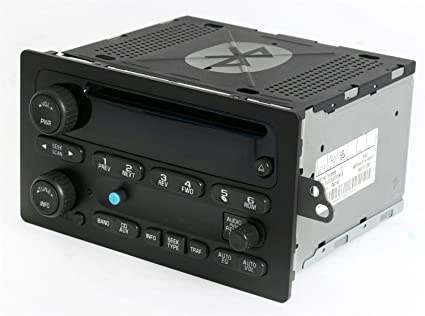 3123e889574c0 Amazon.com: Chevy GMC 03-05 Truck Radio AM FM CD Player Upgraded w ...