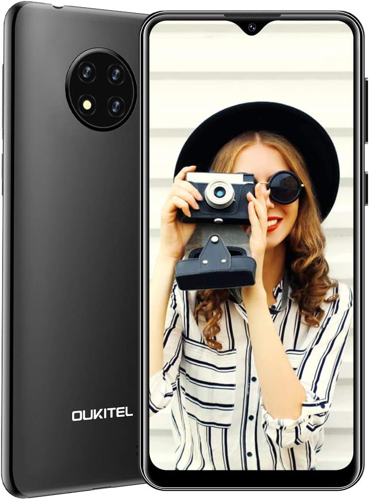 Moviles Libres 4g, OUKITEL C19 Android 10.0 Teléfono con 6.49