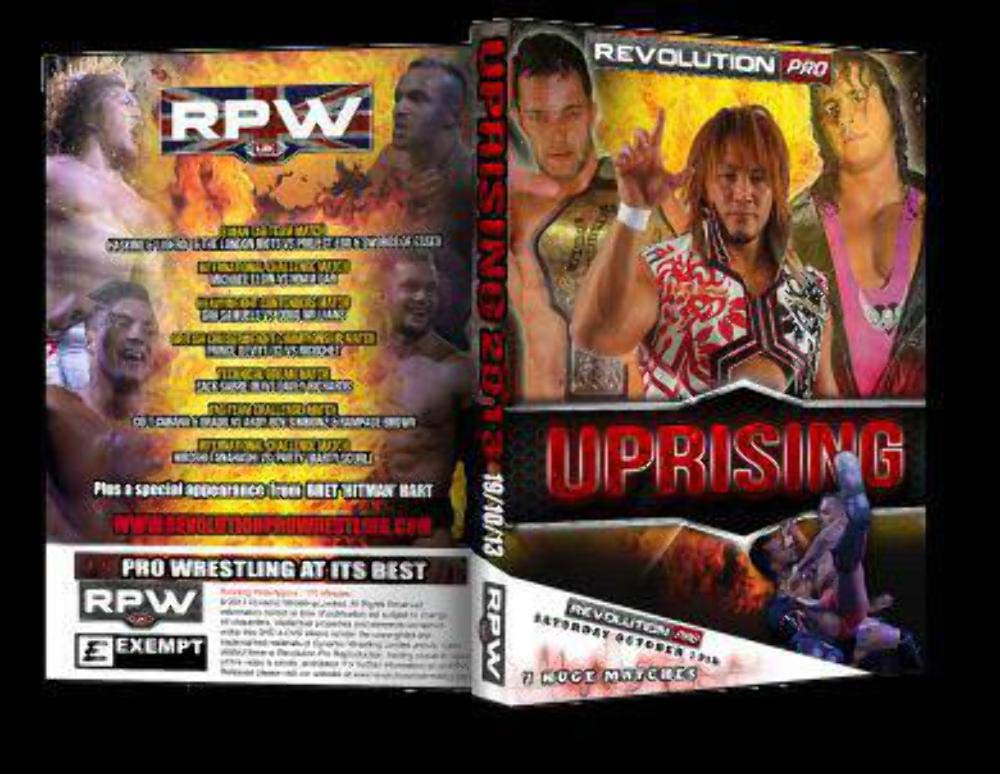 RPW RevPro Wrestling Uprising 2013 DVD: Amazon co uk: Welcome