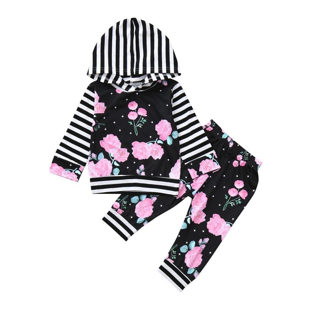 Ropa Bebe Nino Recien Nacido otoño ,❤ BBestseller Impresión de la Nube Blusa Bebe niña Manga Larga Camisetas Bebé Conjuntos Moda Camisa + Pantalones + ...