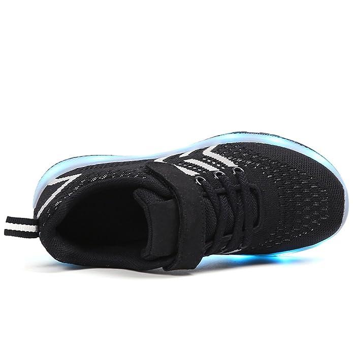Amazon.com | LJ Sport LED Shoes Kids Luminous Shoes Light Up Trainers Sneakers Shoes USB Charging Shoes | Sneakers