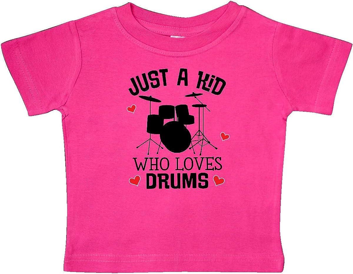 inktastic Future Drummer Kid Loves Drums Baby T-Shirt