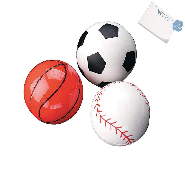 スポーツBouncing Balls (with付箋) 48 Dozen (576 pieces) B4963733123032W B07DN6FV8X  48 Dozen (576 pieces)