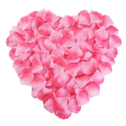 Hair Clips With Natural Rose Petals Excellent In Cushion Effect Hair Accessories