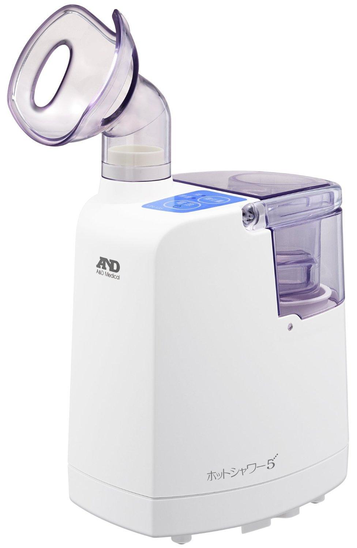 A&D 超音波温熱吸入器 ホットシャワー5 ブルー UN-135A-JC B00RGLD6MA